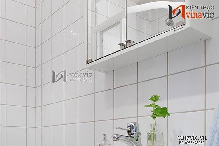Thiết kế nội thất đơn giản ngăn nắp phong cách hiện đại NTO1405