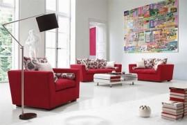 Màu đỏ được xem là đem tới may mắn và đem lại cảm giác tươi vui. Ảnh: Homestore