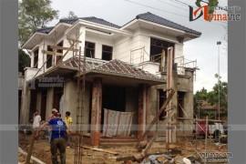 Thi công xây dựng nhà biệt thự đẹp 2 tầng hiện đại TCBT1501
