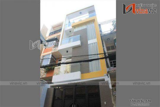 Thi công hoàn thiện công trình nhà phố trọn gói TCNP02