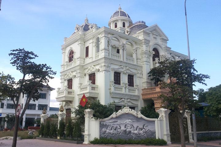 Thi công lâu đài dinh thự trọn gói phong cách cổ điển ở Hải Dương 09