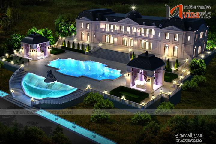 Mẫu thiết kế lâu đài nguy nga tráng lệ tại Sa Pa LDDT10