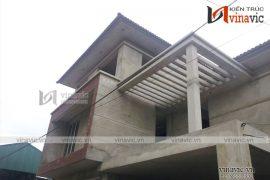 Hoàn thiện công trình biệt thự 3 tầng nhẹ nhàng TCBT1683