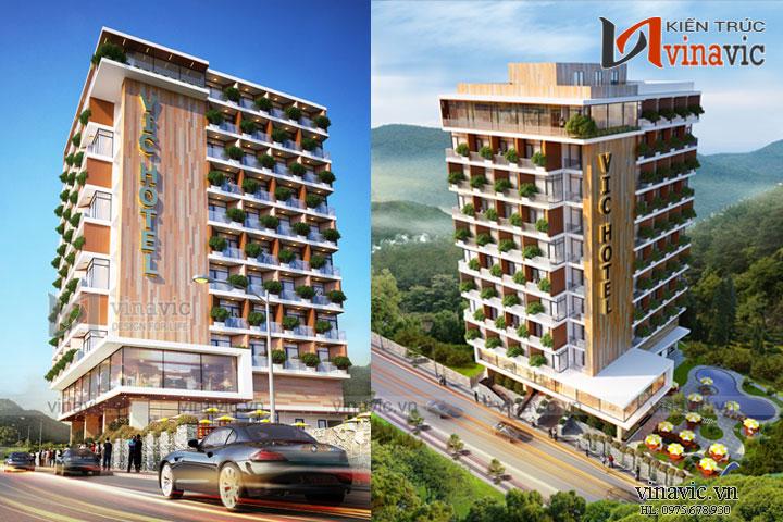 Thiết kế khách sạn hiện đại tiêu chuẩn 4 sao trên đỉnhTam Đảo KSVP18