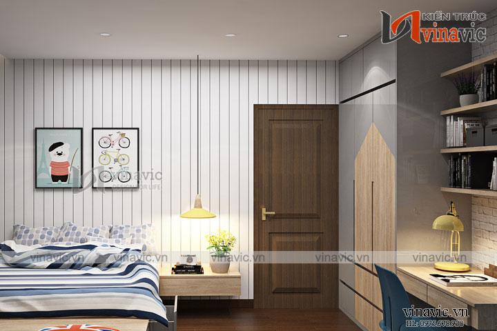 Mẫu thiết kế nội thất hiện đại cho căn nhà phố diện tích nhỏ NTNO1620