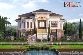 Biệt thự nhà vườn đẹp 1 tầng thiết kế cao cấp BT1820