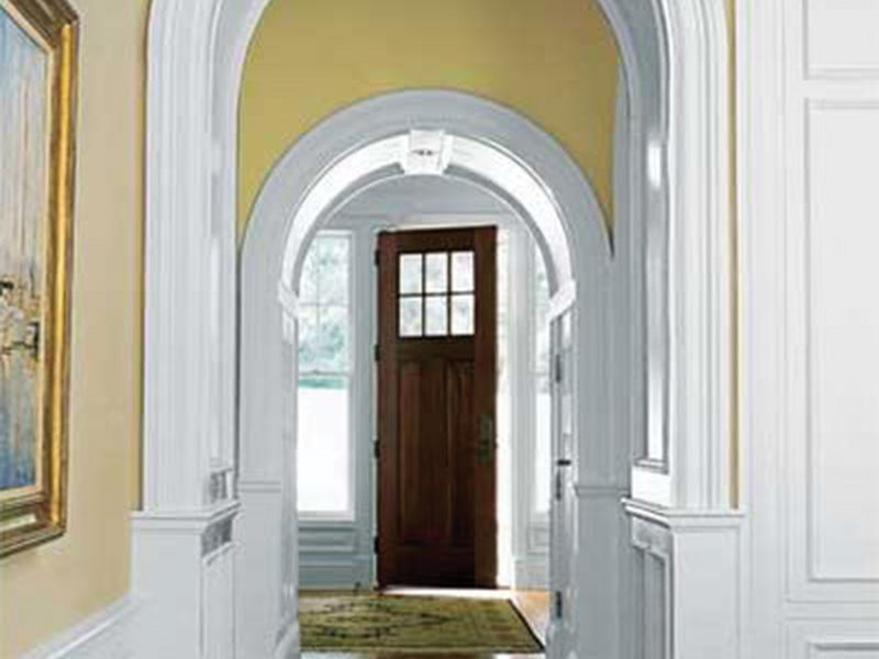 Cửa chính và cửa sau thẳng hàng với nhau