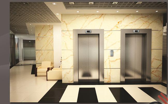 Không nên xây cửa nhà đối diện với thang máy.