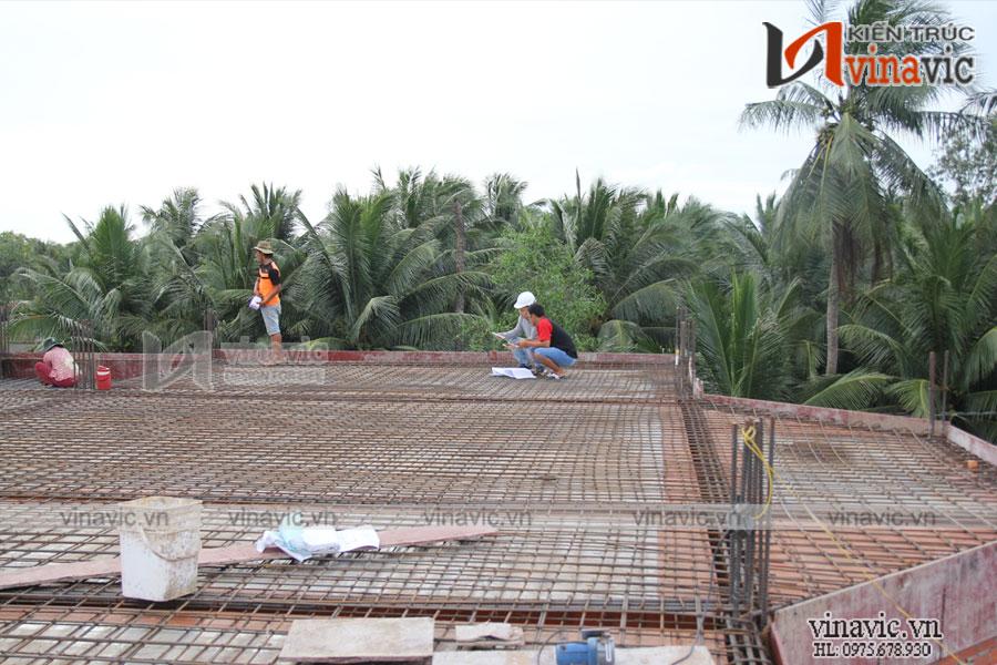 Hoàn thiện mẫu dinh thự đẳng cấp tại Cù lao Dung- Sóc Trăng