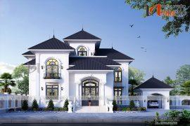 Biệt thự 350m2 4 phòng ngủ 2 tầng 1 lửng mức đầu tư 2.5 tỷ ở Phú Thọ