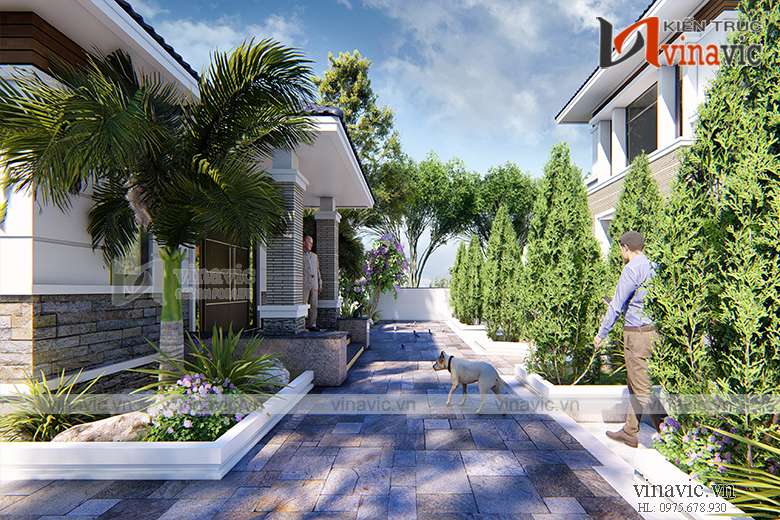 Nhà đẹp 2 tầng mái thái hiện đại nổi bật nhất biển Sầm Sơn
