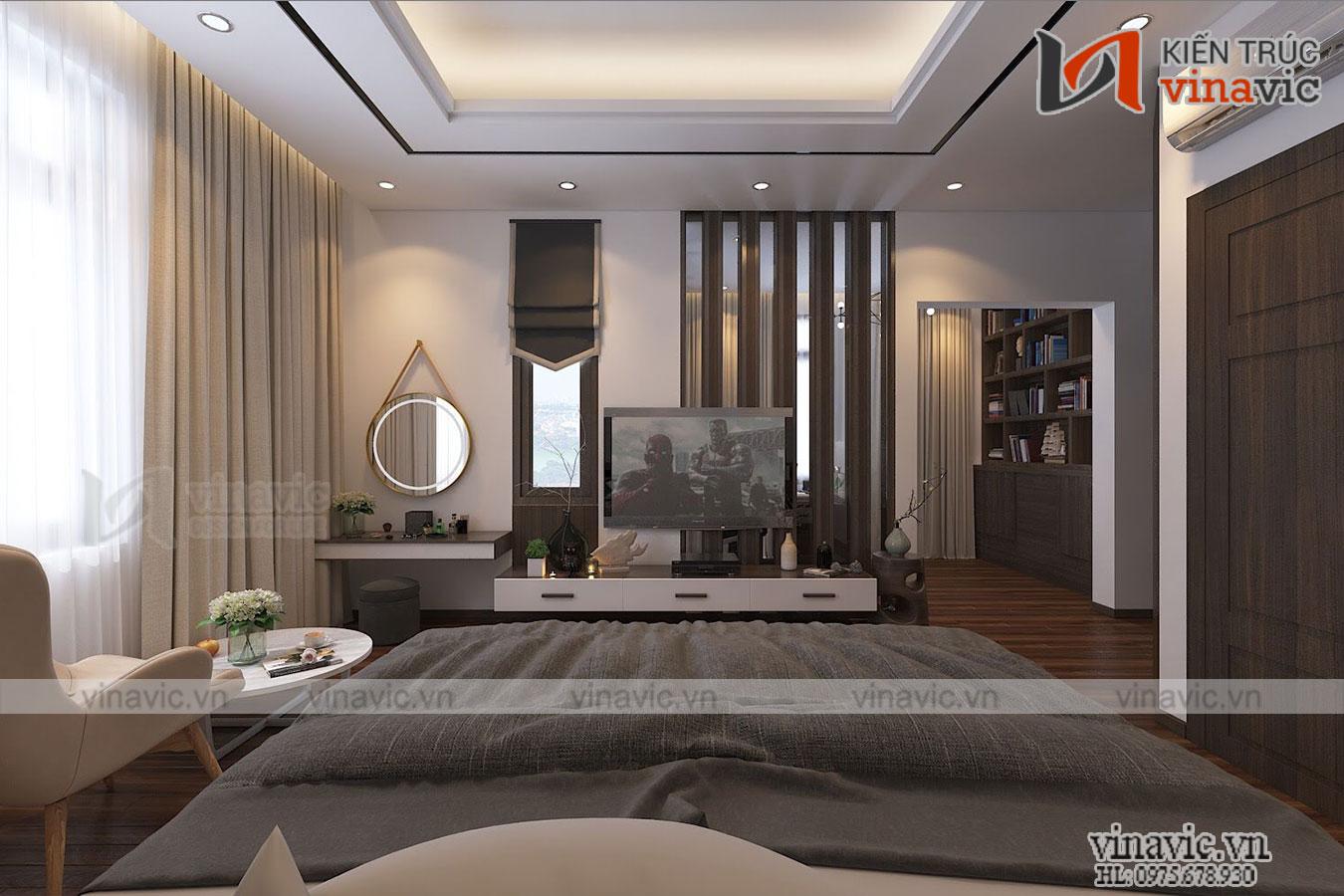Nhà đẹp 2 tầng mái thái hiện đại nổi bật nhất biển Sầm Sơn BT1911