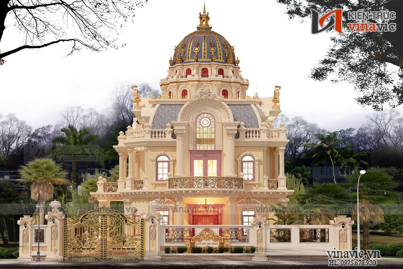 Thiết kế Cung Điện Mùa Đông thiên đường mơ ước của cuộc sống LDDT1908