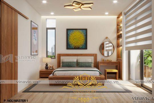 Nội thất phong cách hiện đại cho biệt thự nhà ông chi – Hà Nội NT2017
